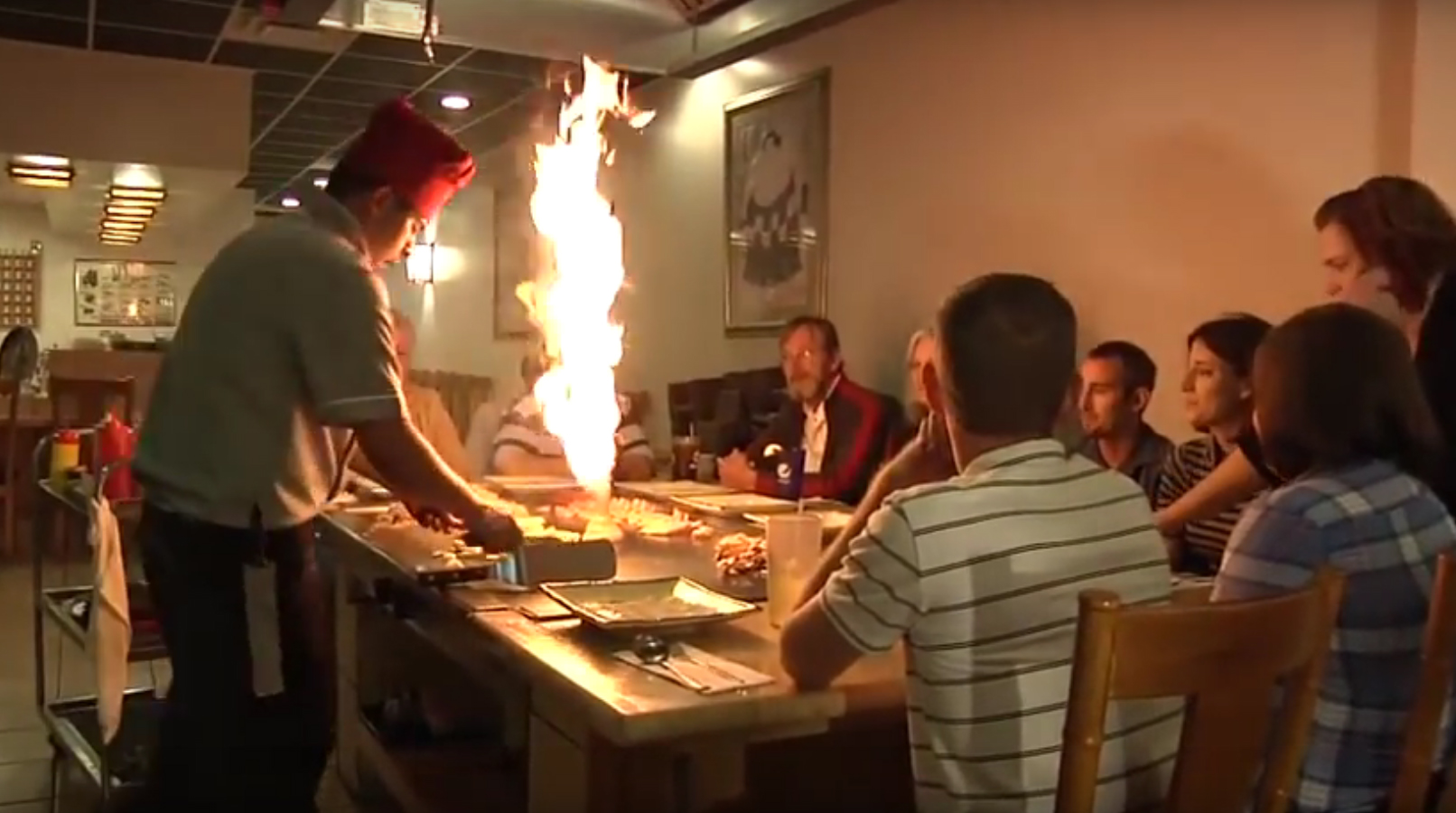 Homeplate S Stephanie Shaw And Her Son Caleb Take A Trip To Yamato Anese Restaurant Serves Up Hibachi Style Meals Cooked In Front Of The